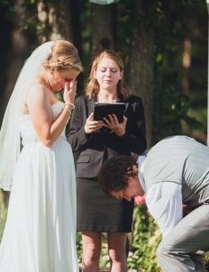 Maranda and Jarod's wedding in 2015