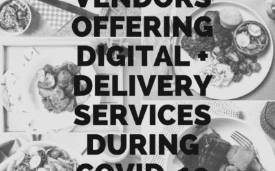 Vendors Offering Digital + Delivery Services During COVID-19